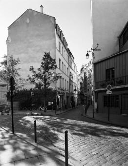 Rue Galande, 2009  After Marville, 1865
